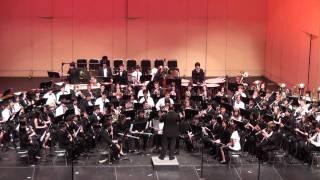 "CBDA 2010 - ""Ghost Fleet"" - All-State Jr. High Symphonic Band, by Robert Sheldon"