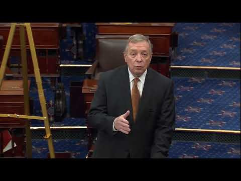 Durbin Calls on Senate Colleagues to Support Iran War Powers Resolution