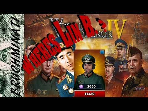 World Conqueror 4 |  Axis Campaign #1 Blitzkrieg / Quick Look... HOLD ON!  WHERES LIN. B ???
