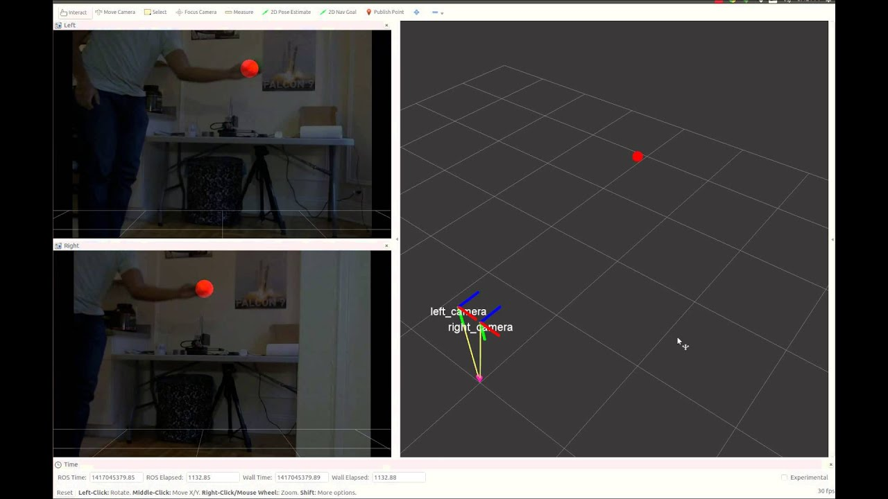 Stereo Tracking with ROS & OpenCV