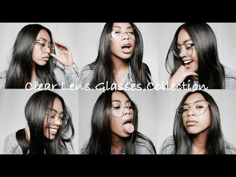 ebc6a44d9f64 Clear Lens Glasses Collection X Gold Soul - YouTube