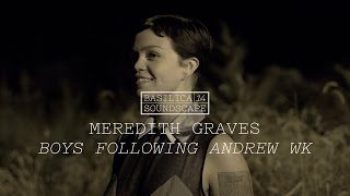 """Meredith Graves reads """"Boys following Andrew WK"""" - Basilica Soundscape 2014"""