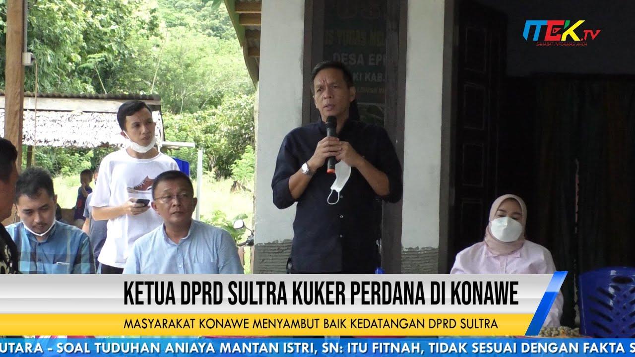 Ketua DPRD Sultra Kuker Perdana di Konawe