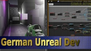 Unreal Engine 4 Tutorial Deutsch [S2E06] DUCKEN & SPRINTEN