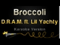 D R A M  feat  Lil Yachty   Broccoli Karaoke Version video & mp3