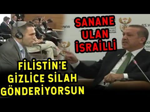 İsrail'li Elçi Erdoğan'ı Suçlayınca Bakın Erdoğan Yüzüne Ne Dedi
