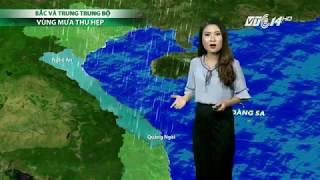 VTC14 | Thời tiết 6h 11/11/2017| Bão số 13 giật cấp 10 tiến vào Biển Đông