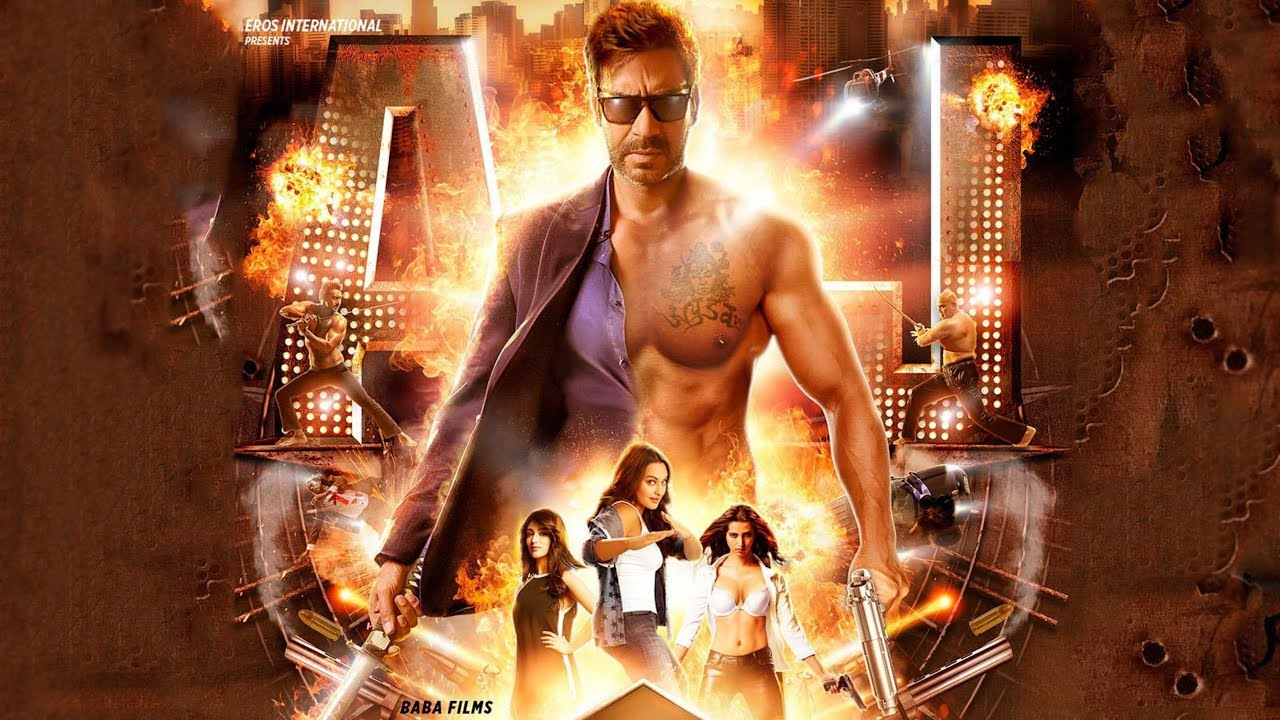 Action Jackson 2014 Full Hindi Movie | Ajay Devgn | Sonakshi Sinha | Yami Gautam | Manasvi Mamgai |
