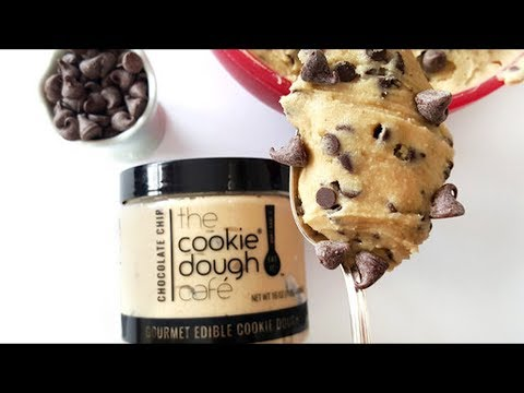 Perfect Junk Food!!! (The Cookie Dough Cafe Edible Cookie Dough) - Wreckless Eating