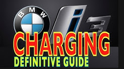 BMW i3 CHARGING --- Complete Instructions & BMW Connected App - 2017 UPDATED (4K)