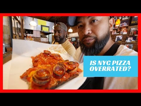 Is NYC Pizza overrated? Prince Street Pizza in New York City
