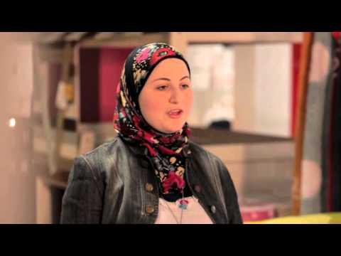 دانيا قبل مقابلة شيف ليلى - عروستنا2 - حلقة1
