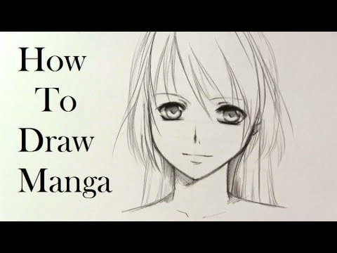how to draw manga faces youtube