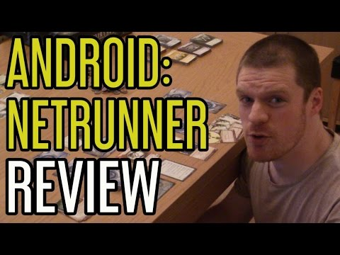 Dice Hard - Android Netrunner Core Set - Board Game Review
