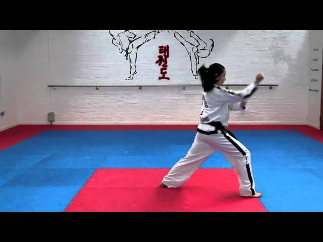 Yul Gok Tul and basic movements for grading to 4th kup