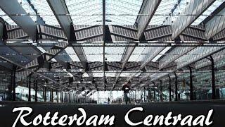 Het nieuwe station Rotterdam Centraal
