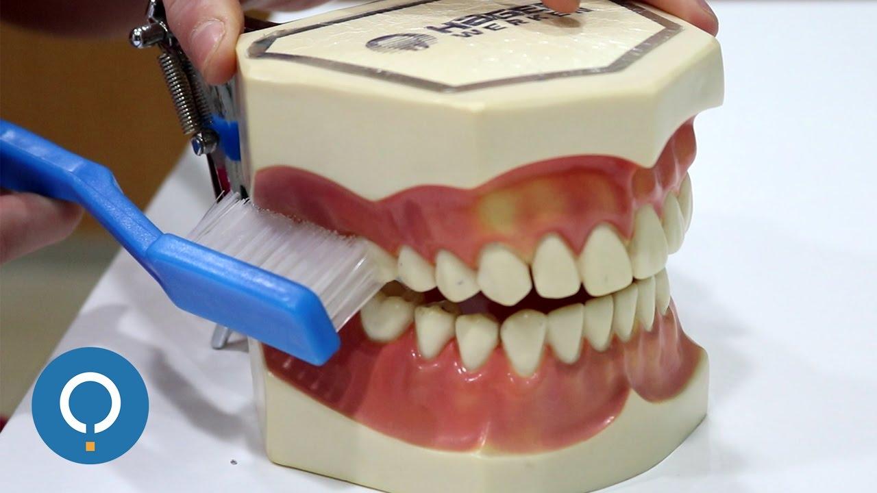 como lavarse los dientes con brackets recien puestos
