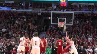 Wisconsin vs Indiana Big Ten Tournament Highlights