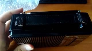 Распаковка и обзор радиоприемника GOLON RX-608 ACW