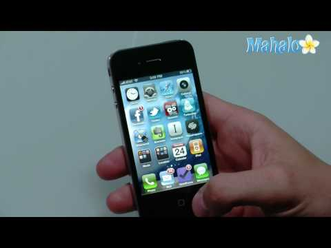 How to set up email accounts on iPhone 4
