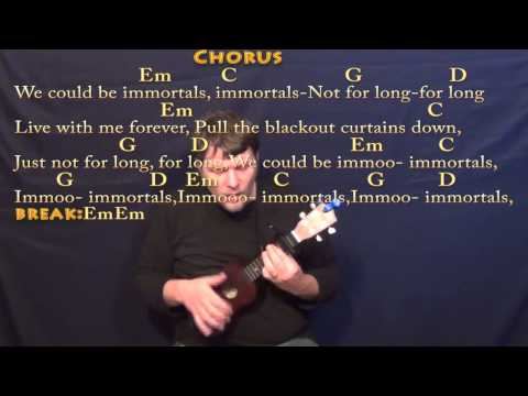 Immortals (Fall Out Boy) Ukulele Cover Lesson with Chords/Lyrics