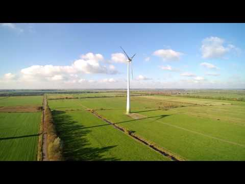 Wind Energy Turbine Power Renewable Landscape No Copyright Video