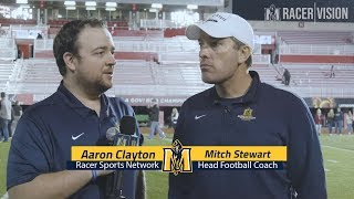 Racer Football - Mitch Stewart vs Austin Peay 11-17-18 Postgame