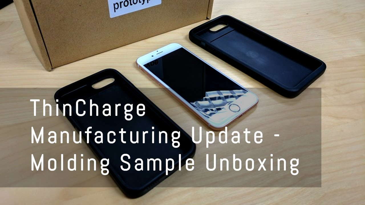 competitive price 3219a 2465e ThinCharge 7/7+ - Molding Sample Unboxing