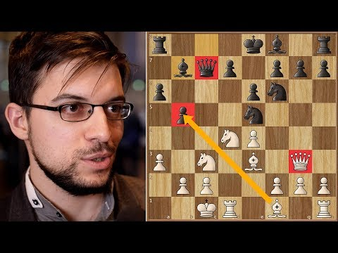 Bronstein Would be Proud  | MVL vs Anand | Grenke Chess Classic 2018.