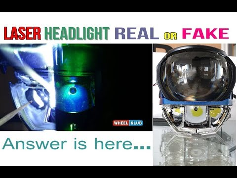 Is It A Real LASER Headlight? Answer Is Here