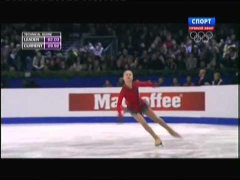 видео: Julia LIPNITSKAIA Чемпионат Европы по фигурному катанию 2014, Будапешт