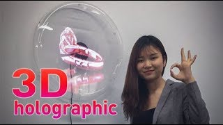 3D holographic fan;software and User manual