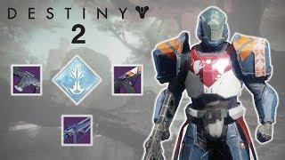 Destiny 2 Beta PvP 21.0 Efficiency Control on Endless Vale Striker Titan God Build