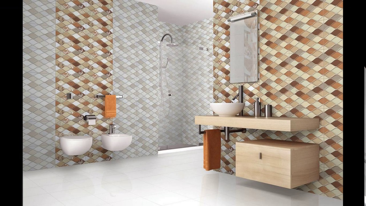 Bathroom tiles design in kerala youtube for Bathroom interior tiles design