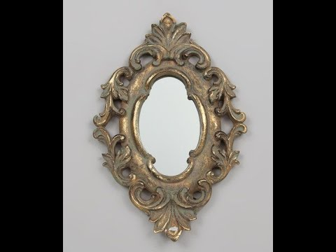 How to modeling Vintage Gold Victorian Mirror part 1