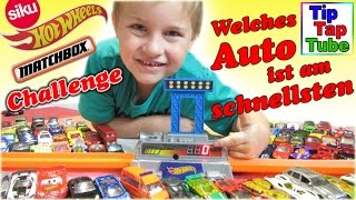 Mattel Speedometer Wettkampf Hot Wheels Matchbox Siku Spielzeug Autos Challenge Kinderkanal