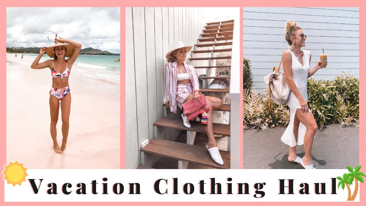 [VIDEO] - Summer Vacation Clothing Haul & Outfit Ideas | Hawaii 2