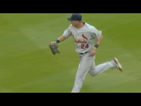 Ankiel shows off his arm with two great plays
