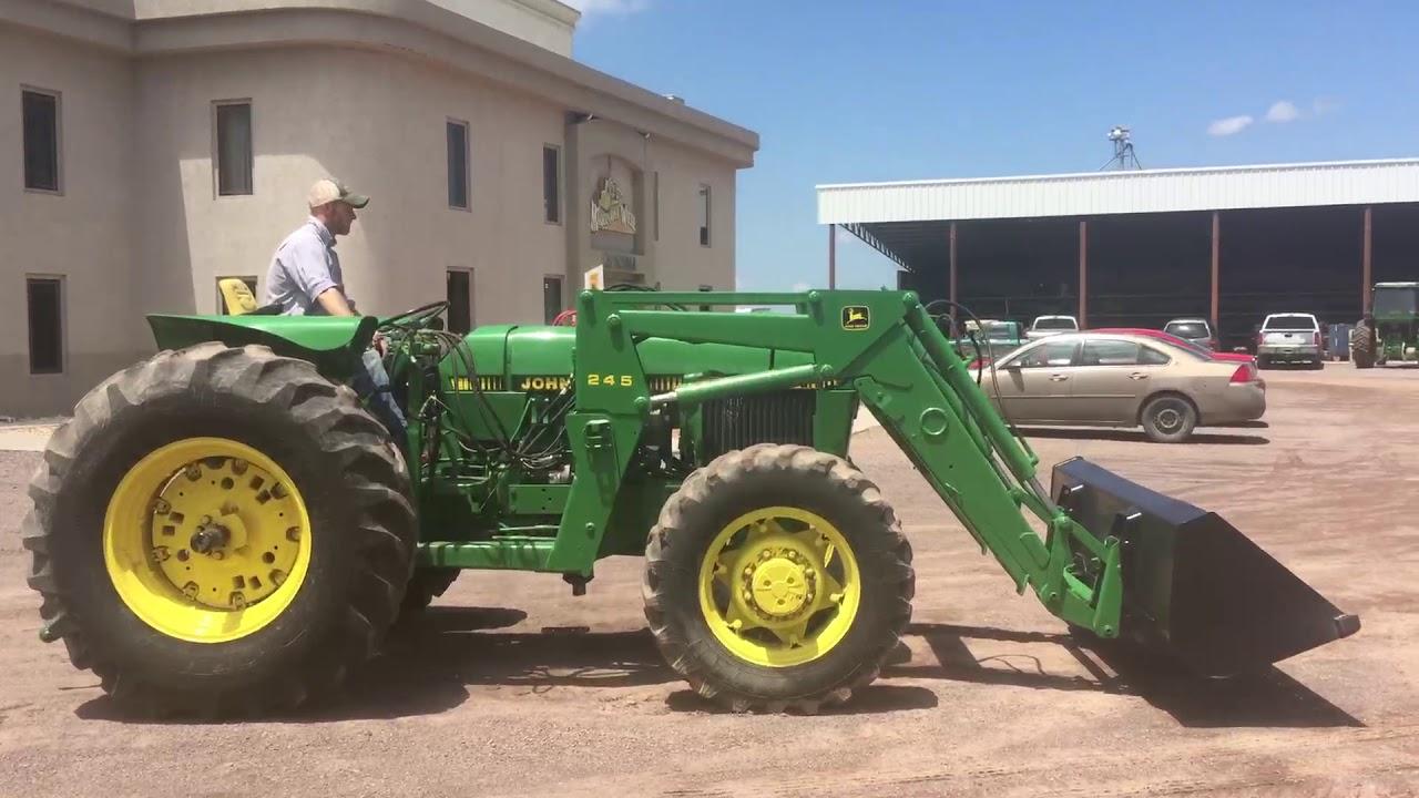 Tractor John Deere 2755 A U00d1o 1988