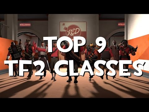 Top 9 Team Fortress 2 classes
