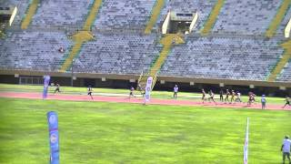 Ветераны легкой атлетики - Эстафета 4х100м (М60) чемпионат Европы Измир 2014