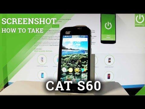 How to take screenshot in CAT S41 - HardReset info