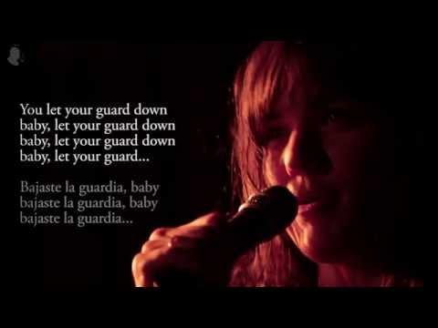 Emily Wells  Let Your Guard Down lyrics + sub español