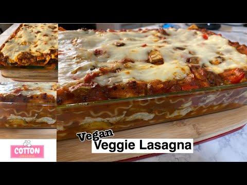 Vegan Cheesy Lasagna | Veggie Supreme Lasagna | Homemade Cashew Ricotta Cheese Dairy Free