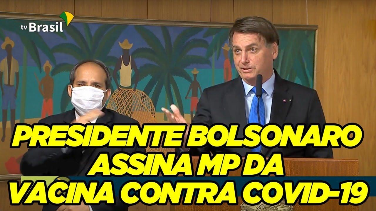 Bolsonaro assina MP da vacina!🙏