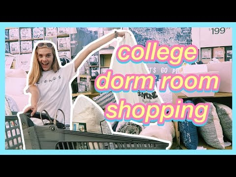 College Dorm Room Shopping 2018!