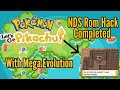 Let's Go Pikachu NDS Rom Hack With Mega Evolution - Pokemon Silver Yellow + Download