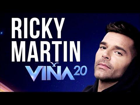 #VIÑA2020 VUELVE RICKY MARTIN A VIÑA 2020