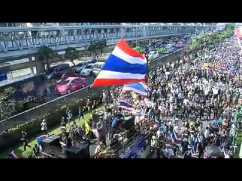 Bangkok, Thailand - Protest March 29, 2014