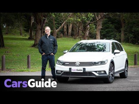 Volkswagen Passat Alltrack Wolfsburg 2017 review   road test video